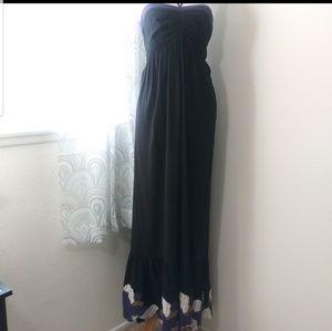 Torrid Size 1 maxi halter dress